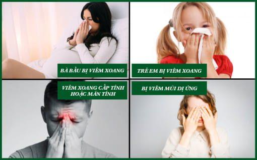 Ai nên sử dụng thuốc xịt viêm xoang thiên sứ