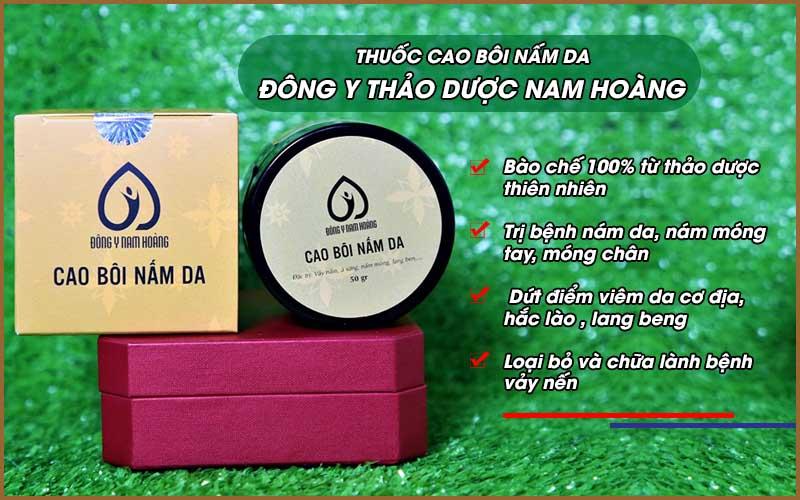 Thuốc cao bôi nấm da thảo dược Nam Hoàng